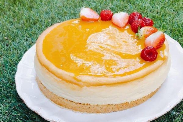 Cheesecake mango maracuya TABATHA PASTELERIA MADRID