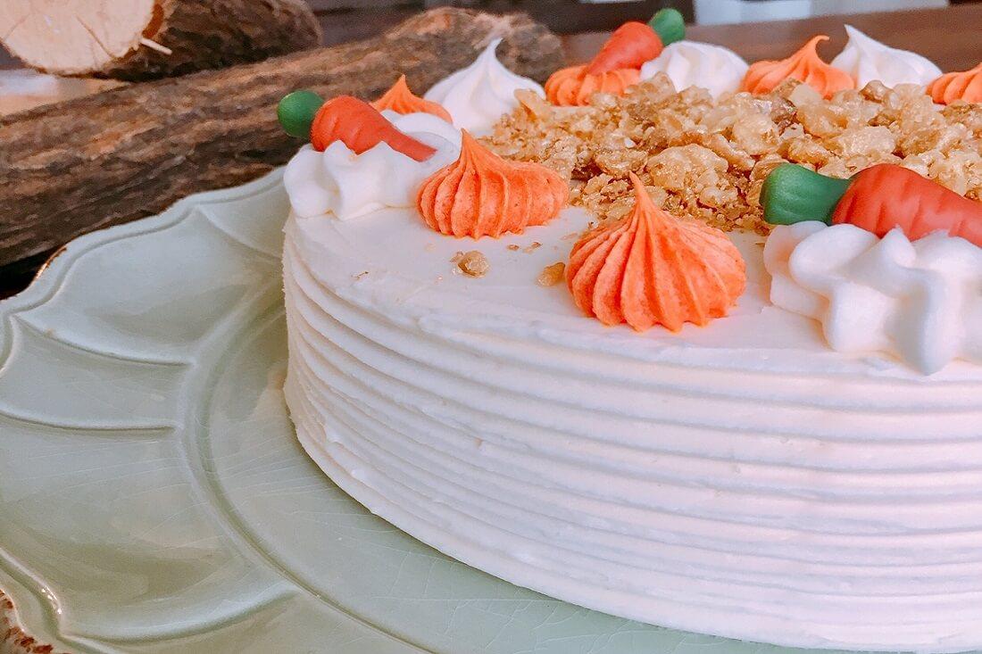 CARROT CAKE TABATHA PASTELERIA MADRID