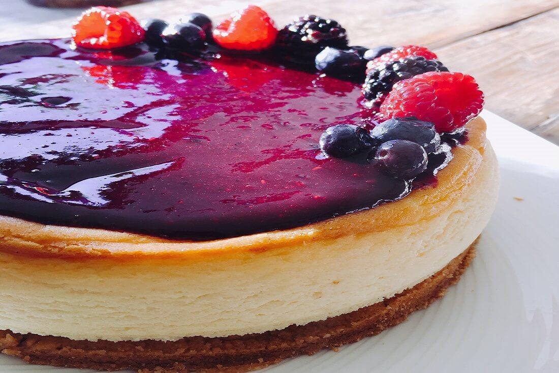 cheesecake frutos del bosque TABATHA PASTELERIA MADRID