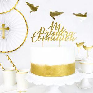 Cake Topper Mi Primera Comunion (1) TABATHA PASTELERIA MADRID