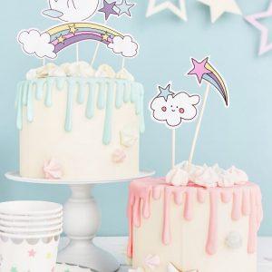 Cake Topper Unicornio (2) TABATHA PASTELERIA MADRID