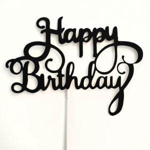 cake topper happy birthday (1) TABATHA PASTELERIA