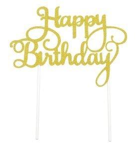cake topper happy birthday (3) TABATHA PASTELERIA