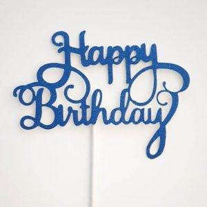 cake topper happy birthday (5) TABATHA PASTELERIA