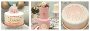 tartas para la primera comunion