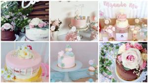 tartas de primera comunion niñas