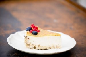 cheesecake saludable