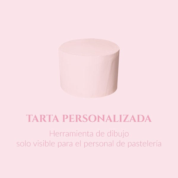 Tarta personalizada (dibujo)