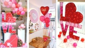 globos san valentín